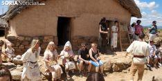 Recreación histórica en Numancia.