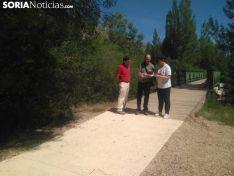Obras en las márgenes del Duero