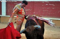 Ponce, en uno de sus toros. /SN