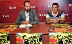 Ángel Hernández (izda.) y Carlos Heras, este martes en la presentación del torneo. /Ayto.