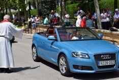 Foto 5 - Galería de imágenes de la bendición de vehículos en Soria