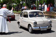 Foto 6 - Galería de imágenes de la bendición de vehículos en Soria