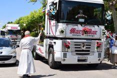 Galería de imágenes de la bendición de vehículos en Soria