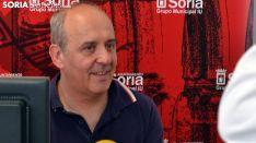 García, este miércoles en rueda de prensa. /SN