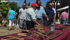 Una imagen de archivo del mercado tradicional de Almarza. /SN