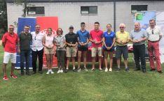 Ganadores del I Torneo MateoGrupo de golf.