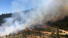 Una imagen del incendio donde se ha producido el fatal accidente. /ATBRIF