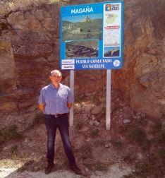Fernando Marín, alcalde de Magaña.