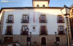 Edificio de la Casa de la Tierra, donde está ubicada la sede de la UNED en Soria. /SN