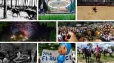 Algunas de las fotos presentadas al concurso.