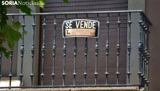 Un piso a la venta en Soria capital. /SN