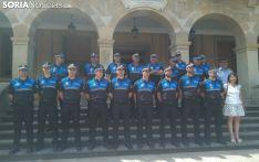 Plantilla de la Policía Local de Soria.