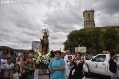 Imágenes de la romería de La Blanca. /EM
