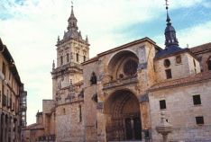 Imagen de la catedral de El Burgo de Osma.