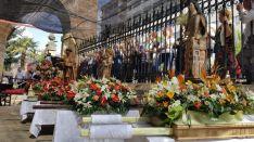 Foto 2 -  Homenaje a la patrona de las fiestas de San Juan