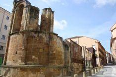 Imagen de las ruinas de San Nicolás.