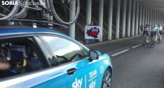 Las reivindicaciones de Soria Ya, también presentes en el Tour de Francia
