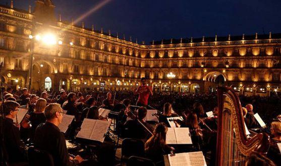 El concierto de la gira en Salamanca el pasado viernes. /Oscyl