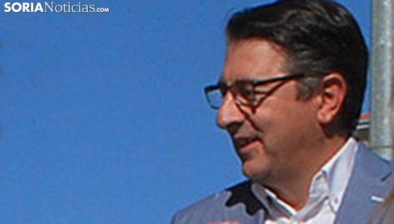 Jesús Peregrina, portavoz de los populares en la Diputación. /SN