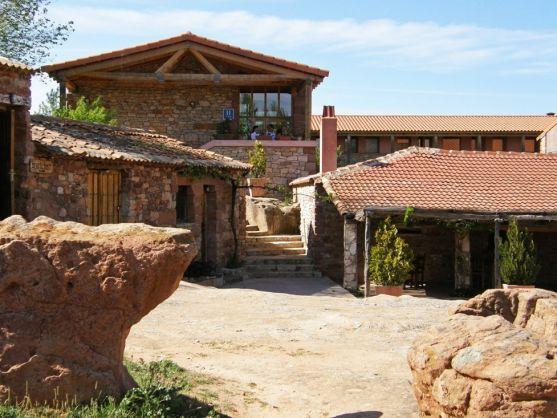 Hotel Termes, junto al yacimiento de Tiermes.