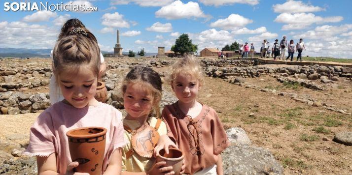 GALERÍA: 670 personas descubren el secreto de Numancia