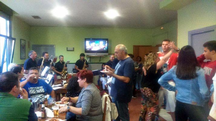 Una imagen de las fiestas esta tarde de viernes. /SN