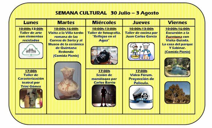Foto 1 - Amplio calendario para la semana cultural de Asovica-Fadess