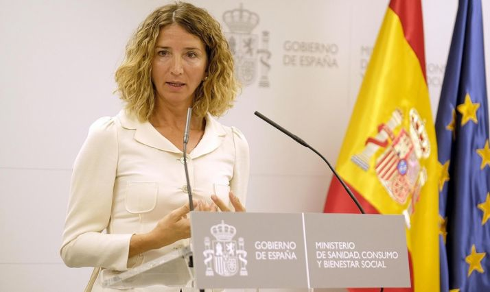 La consejera de Familia e Igualdad, Alicia García este jueves.