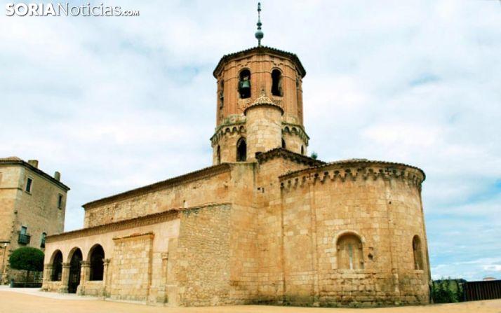 La iglesia de San Miguel en Almazán, uno de los monumentos abiertos. /SN