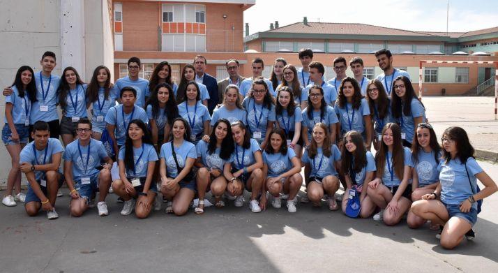 Alumnos del segundo turno del Campus de Profundización Científica en el IES Politécnico. /Jta.