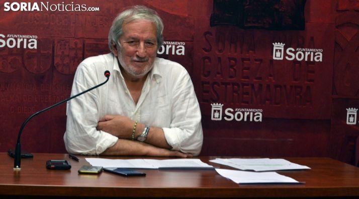 Jesús Bárez, este lunes en la presentación de la feria. /SN