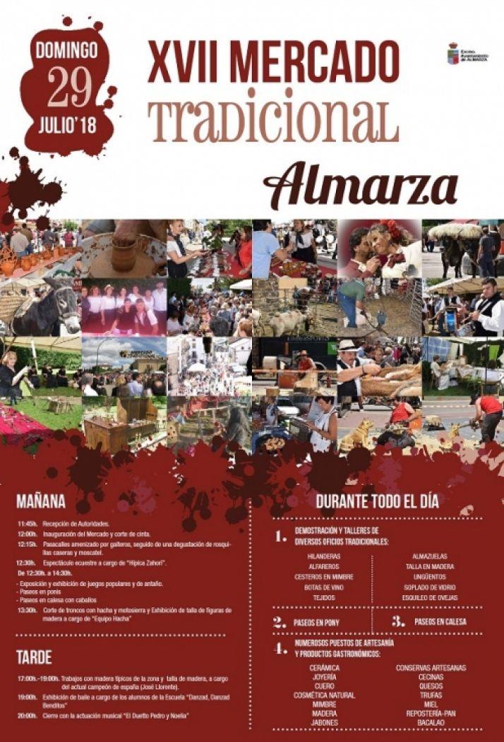Foto 1 - Almarza celebra su Mercado Tradicional este domingo