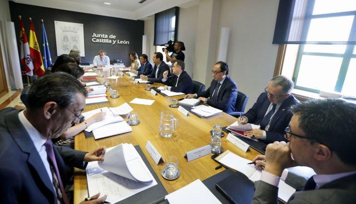 Una imagen de la reunión de este viernes. /Jta.