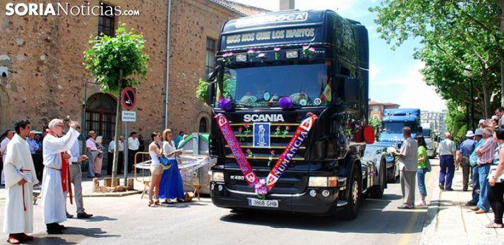 Los transportistas sorianos honran a San Cristóbal este sábado