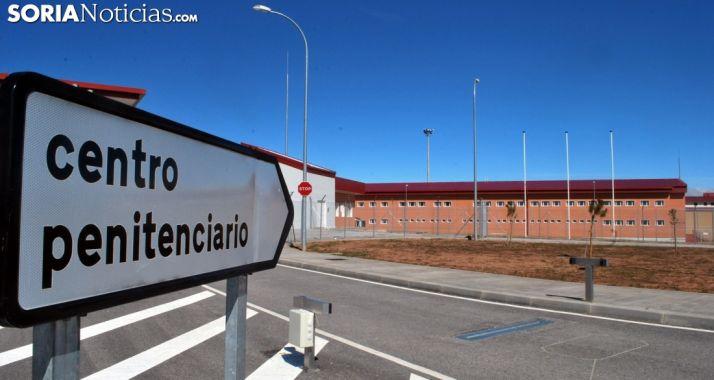 Entrada al nuevo centro penitenciario de Soria, todavía sin uso. /SN