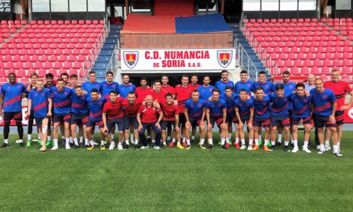 Foto 1 - El Numancia empezará la temporada fuera contra el Córdoba y terminará en casa contra Las Palmas