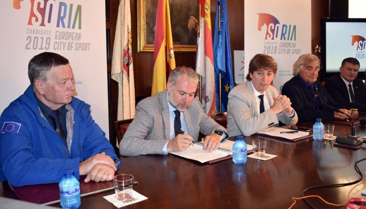 Foto 1 - Calidad de infraestructuras, participación e inversión, bazas de Soria para Ciudad del Deporte