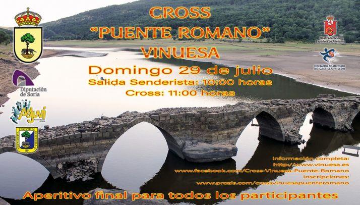 Foto 1 - El I Cross Puente Romano busca recuperar este monumento de Vinuesa