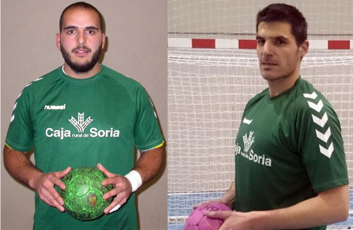 Eguren y Rasero siguen en el equipo del San Andrés. /BM Soria