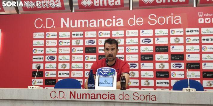 Lopez Garai, entrenador del Club Deportivo Numancia