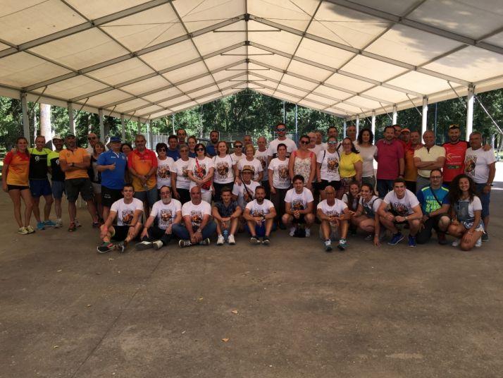 Imagen del equipo de organizadores y voluntarios.