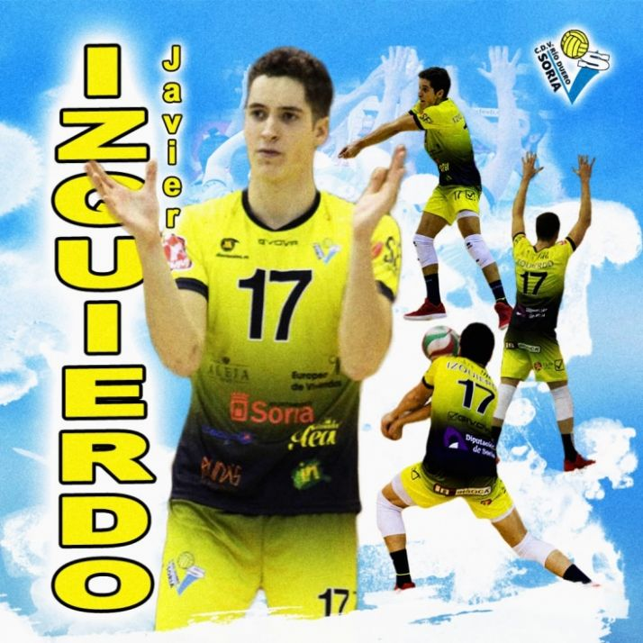 Foto 1 - Javier Izquierdo renueva con el Río Duero de voleibol