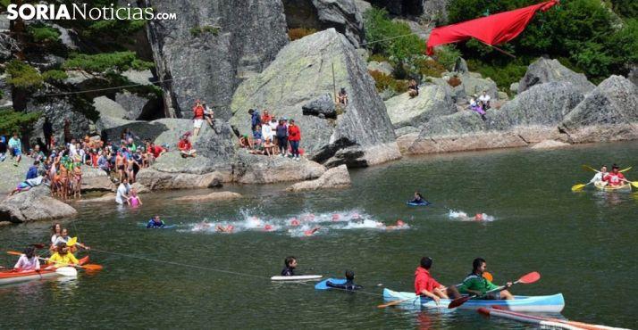 Foto 1 - El domingo, la Travesía de la Laguna Negra