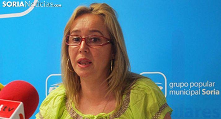 María José Fuentes, del PP municipal. /SN