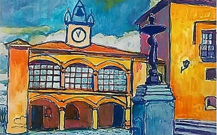 Foto 1 - Pinturas de Jesús Tarodo en Morón de Almazán