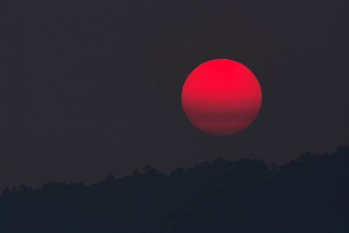 Luna de sangre. /eltiempo.es