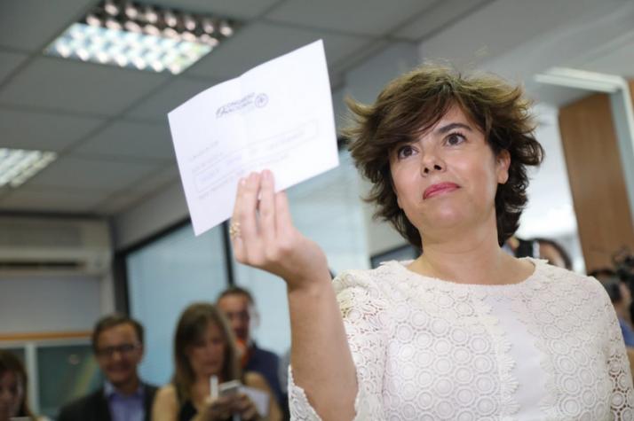 Los militantes del PP en Soria se decantan por Soraya
