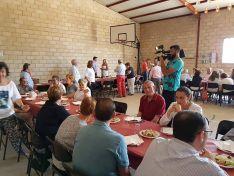 Comida popular en Torrubia de Soria. /Subdelegación del Gobierno.