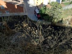 Incendio en Almazán. Diputación.
