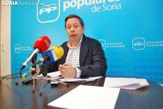 Adolfo Sainz, portavoz del PP en Soria.